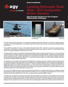 LHD Ship HJ1 Composite Armor System